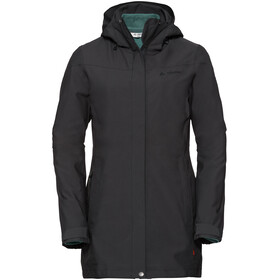 VAUDE Idris II 3-In-1 Parka Dames, phantom black